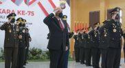 DIY mendapat penghargaan Anugerah Tangguh Presisi dalam Upacara Peringatan Hari Bhayangkara ke-75. (Foto:nyatanya.com/HUmas Pemda DIY)