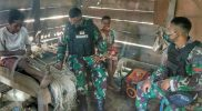 Prajurit yonif 512 lakukan anjangsana ke rumah warga. (foto: nyatanya.com-istimewa)
