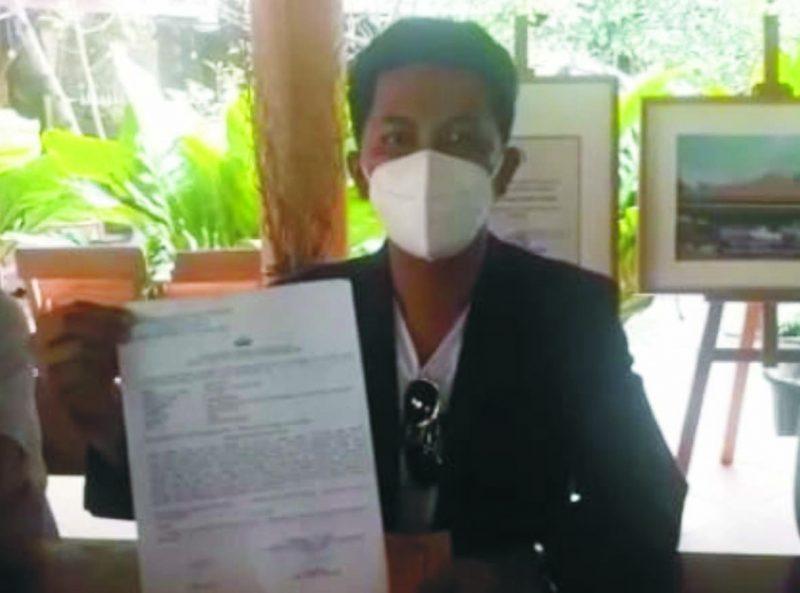 Krisna Septian SH Kuasa Hukum Jamil berharap pelaku segera ditangkap.  (Foto: nyatanya.com/istimewa)
