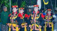 Lantaran mengadopsi dari gerakan mengangguk-angguk, kesenian tarian tradisional ini dinamakan tarian Angguk. (Foto: Dokumentasi Puspa Umitama)