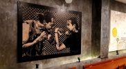alam satu karya yang dipamerkan kelompok 'Anti Sport-Sport Club' di Stonemilk Ward, Yogyakarta. (Foto: dokumentasi antisport-sportclub)