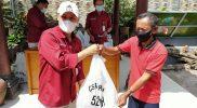 Bakti sosial mewarnai peringatan HUT ke-52 Bank Bapas 69. (Foto:Humas/beritamagelang)