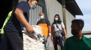 Yayasan Buddha Tzu Chie salurkan bantuan beras untuk masyarakat terdampak pandemi Surakarta. (Foto: Humas Pemkot Surakarta)