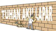 """""""Tembok Ratapan"""", Kartun karya Budi HP (2021)"""