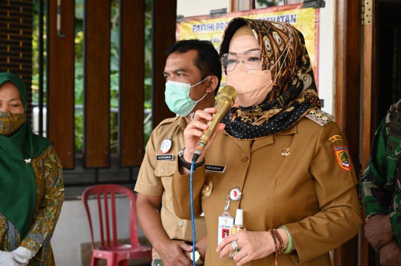 Bupati Sukoharjo, Hj Etik Suryani SE MM. (Foto: Humas Kab Sukoharjo)