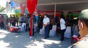 Menteri Koordinator Bidang Kemaritiman dan Investasi RI Luhut Binsar Pandjaitan kunjungi shalter Bener Tegalrejo Yogya. (Foto: dokumentasi Kodim Yogya)