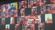 Ganjar Pranowo melepas 7 Atlet Jateng ke Paralimpiade Tokyo 2020 secara daring. (Foto: Humas Jateng)