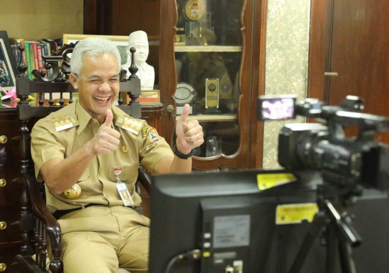 Gubernur Jateng Ganjar Pranowo. (Foto: Humas Jateng)