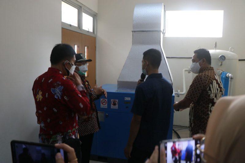 RSUD Nyi Ageng Serang Kulonprogo kini memiliki unit generator oksigen sendiri. (Foto: Humas Kulonprogo)
