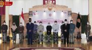 Sri Sultan Hamengku Buwono X, usai melantik sepuluh pejabat Jabatan Pimpinan Tinggi (JPT) Pratama Pemda DIY. (Foto: Humas Pemda DIY)