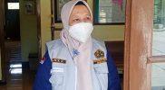 Kepala BPPTKG Hanik Humaida di PGM Babadan Kecamatan Dukun Kabupaten Magelang. (Foto:humas/beritamagelang)