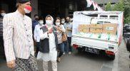 Gubernur Jawa Tengah Menerima bantuan dari PT Hetzer Medical Indonesia, dan Dompet Dhuafa. (Foto: Humas Jateng)