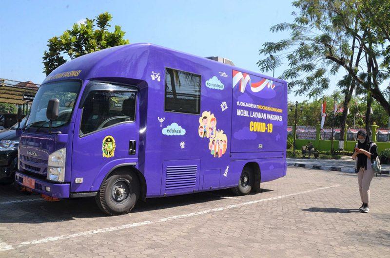 Mobil vaksinasi Pemkot Yogyakarta siap layani warga hingga tingkat RT/RW. (Foto: Humas Pemkot Yogya)