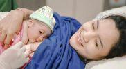 Nella Kharisma dan anak pertamanya. (Foto:@nafaspertama)