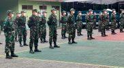 Para BKO tenaga kesehatan TNI telah tiba di Yogyakarta guna membantu penanganan covid-19. (Foto: dokumentasi Kodim Yogya)