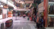 Belum semua pedagang di Pasar Beringharjo membuka dagangannya, meski PPKM Level 4 diperpanjang dengan beberapa kelomnggaran. (Fot: Humas Pemkot Yogya)
