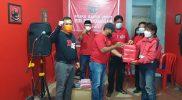 PDIP Kota Yogyakarta bergerak dirikan dapur umum bantu warga isoman. (Foto:Dokumentasi DPC PDIP Kota Yogyakarta)