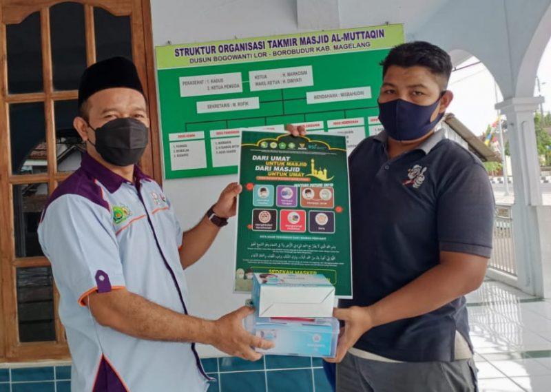 Kampanye 5M 1D ini merupakan kelanjutan dari aksi kemanusiaan dua tahap sebelumnya dengan mengoptimalkan sasaran pada 150 masjid strategis di Kabupaten Magelang. (Foto: Humas/beritamagelang)