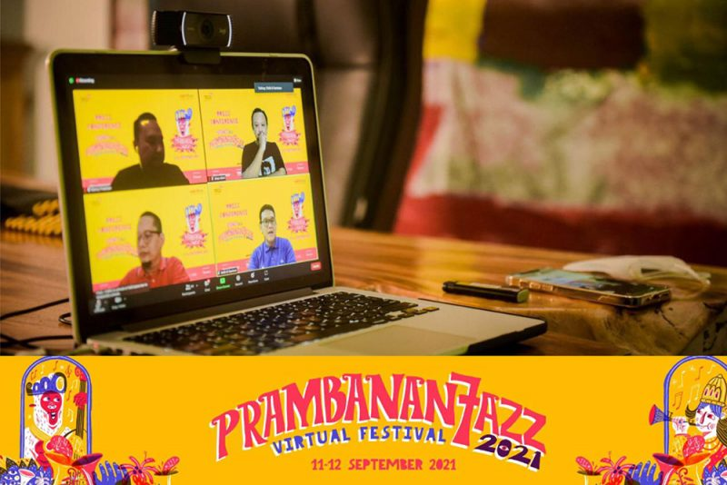 Prambanan Jazz Virtual Festiva 2021 kembali digelar secara virtual. (Foto: Rajawali Indonesia)