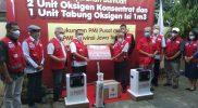 PMI Purbalingga menerima bantuan konsentrator oksigen dari PMI Pusat. (Foto: Diskominfo Purbalingga)