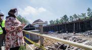 Pembangunan RSUD Tangen terus dikebut. Ditargetkan akhir tahun 2021 pembangunan selesai dan siap melayani kebutuhan kesehatan masyarakat. (Foto:Diskominfo Sragen)