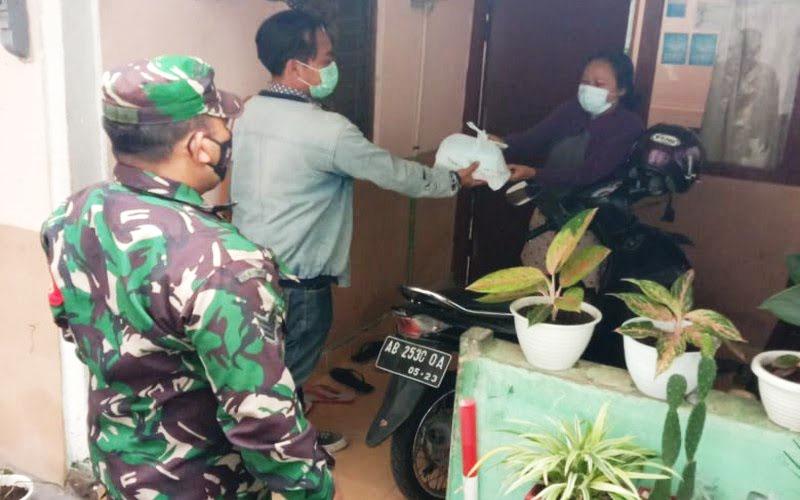 Satgas SIMAK 24 Mergangsan siap melayani pasien sisoman di lingkungannya. (Foto: Humas Pemkot Yogya)