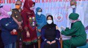 Ibu hamil yang memenuhi kriteria untuk divaksinasi di Kabupaten Sukoharjo mencapai 2.300 orang. (Foto: Humas Sukoharjo)