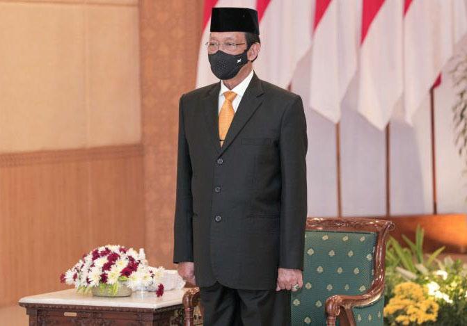 Gubernur DIY, Sri Sultan Hamengku Buwono X kembali dilantik sebagai Dewan Pengawas RSUP Sardjito. (Foto:Humas Pemda DIY)