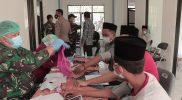 Pondok Pesatren Prapak jadi sasaran Kodim Temanggung lakukan percepatan vaksinasi. (Foto: Diskominfo Temanggung)