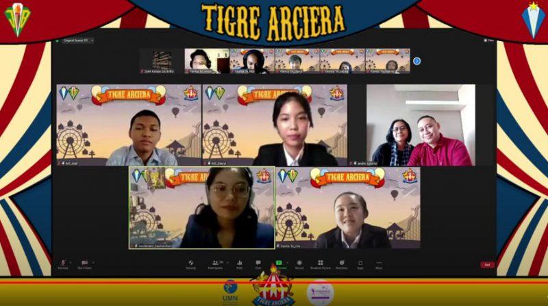 """Presidium SMA Kolese De Britto dan OSIS SMA Stella Duce 1 (Stece) Yogyakarta berkolaborasi menyelenggarakan acara bersama dengan tajuk """"Tigre Arciera"""". (Foto: dokumentasi panitia)"""
