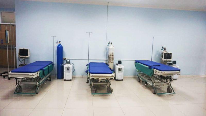 Pasien Covid-19 di Kota Pekalongan terus menunjukkan penurunan. Terlihat dari sepinya pasien di UGD rumah sakit. (Foro: Diskominfo Pekalongan)