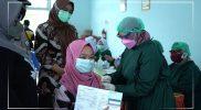 Ilustrasi vaksin Covid-19 bagi ibu hamil. (Foto:dokumentasi/humas kab bantul)