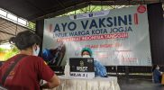 KONI gelar vaksinasi untuk pelaku olahraga di Yogyakarta. (Foto: Humas Pemkot Yogyakarta)