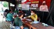 Vaksinasi Merdeka Candi yang digelar Polres Magelang sudah tembus 19 Ribu orang. (Foto:humas/beritamagelang)