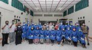 SMAN 1 Yogyakarta bersama Ikatan Dokter Keluarga Alumni Teladan Yogyakarta (KATY) menyelenggarakan kegiatan vaksinasi. (Foto: Humas Pemda DIY)