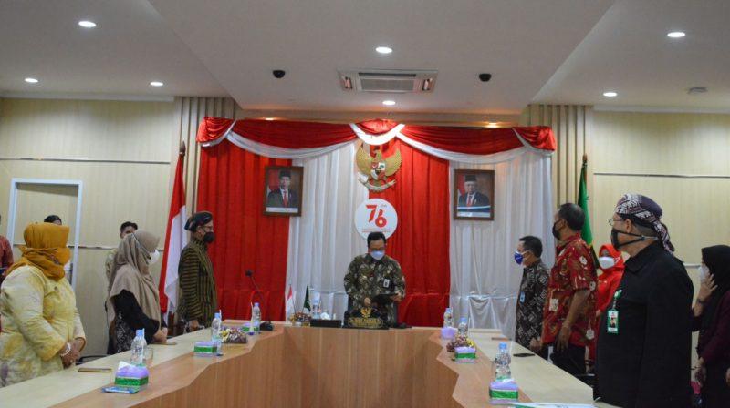Wakil Walikota Yogyakarta, Heroe Poerwadi membuka puncak acara peringatan Hari Anak Nasional 2021. (Foto: Humas Pemkot Yogya)