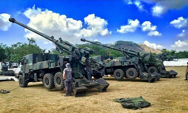 Meriam Caesar 155 Alutsista TNI siap mengawal NKRI. (Foto: dokumentasi TNI AD)