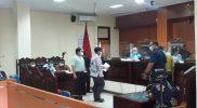 Gugatan yang dilayangkan warga penolak Bendungan Bener kepada Gubernur Ganjar Pranowo disidangkan di PTUN Semarang. (Foto: Tim LBH Nyi Ageng Serang)