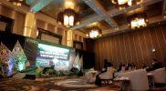 Rapat Pimpinan 3 CFUE (Customer Facing Unit Enterprise) 2021 PT.Telkom Indonesia, Kamis (23/9/2021) di Ballroom Royal Ambarrukmo Hotel, Sleman. (Foto:Humas Pemda DIY)