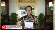 Gubernur DIY Sri Sultan Hamengku Buwono X. (Foto: Humas Pemda DIY)