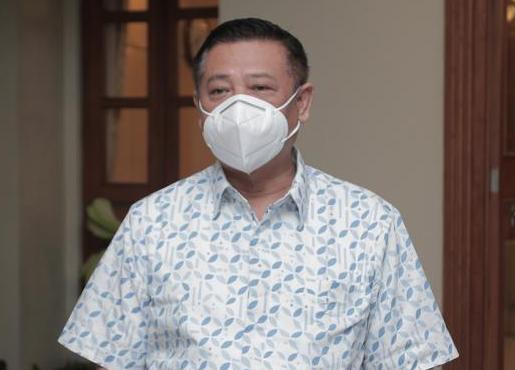 Sekretaris Daerah DIY R. Kadarmanta Baskara Aji mengatakan untuk SD dan PAUD perlu perlakuan yang sangat hati-hati sebab siswa pada kedua jenjang tersebut belum memungkinkan untuk menerima vaksin. (Foto: Humas Pemda DIY)