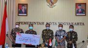 Wakil Walikota Yogyakarta Heroe Poerwadi saat membuka program Bunda Mengajar 4 di Balai Kota. (Foto: Humas Pemkot Yogya)