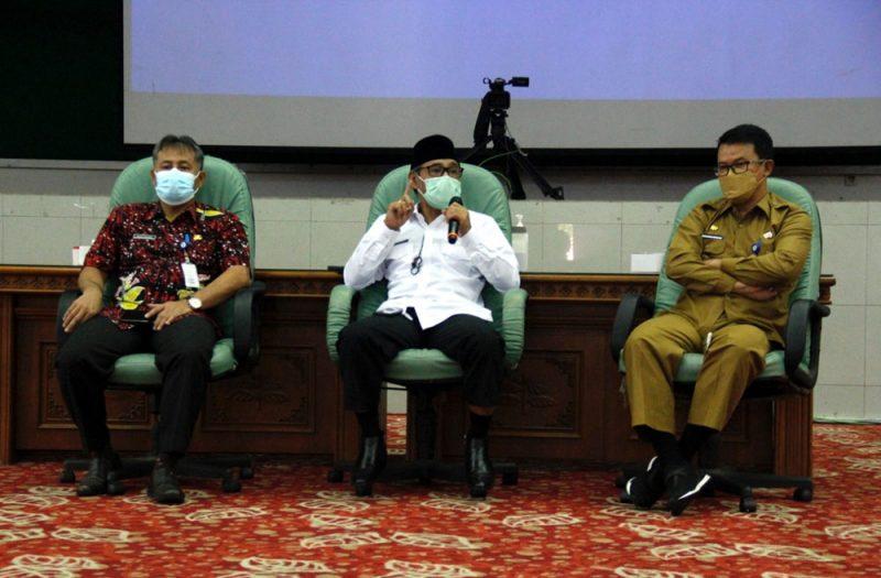 Bupati Temanggung Al Khadziq mengapresiasi dan mendukung kegiatan yang digagas KPK, bahkan ia bersama jajarannya berkomitmen untuk bersih. (Foto: Diskominfo Temanggung)