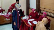 Bupati Sri Mulyani mengatakan program Desa Tuntas Vaksinasi menjadi upaya percepatan membangun kekebalan masyarakat. (Foto: Diskominfo Klaten)