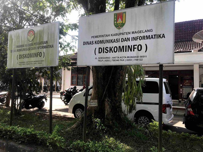 Dinas Kominfo Kabupaten Magelang. (Foto: Humas/beritamagelang)