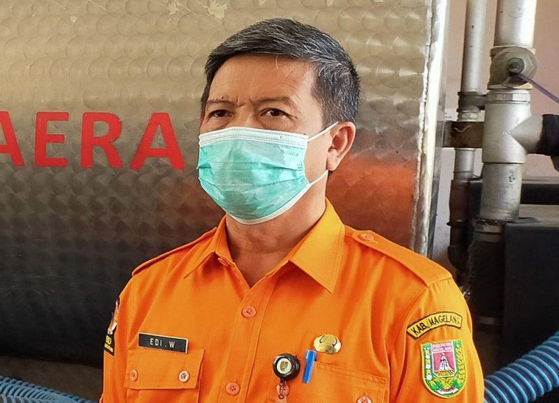 Kepala Pelaksana BPBD Kabupaten Magelang, Edi Wasono. (Foto: Humas/beritamagelang)