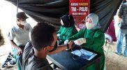 Gerai Vaksin Presisi Mapolres Magelang telah melayani sebanyak 43.605 orang. (Foto: humas/beritamagelang)