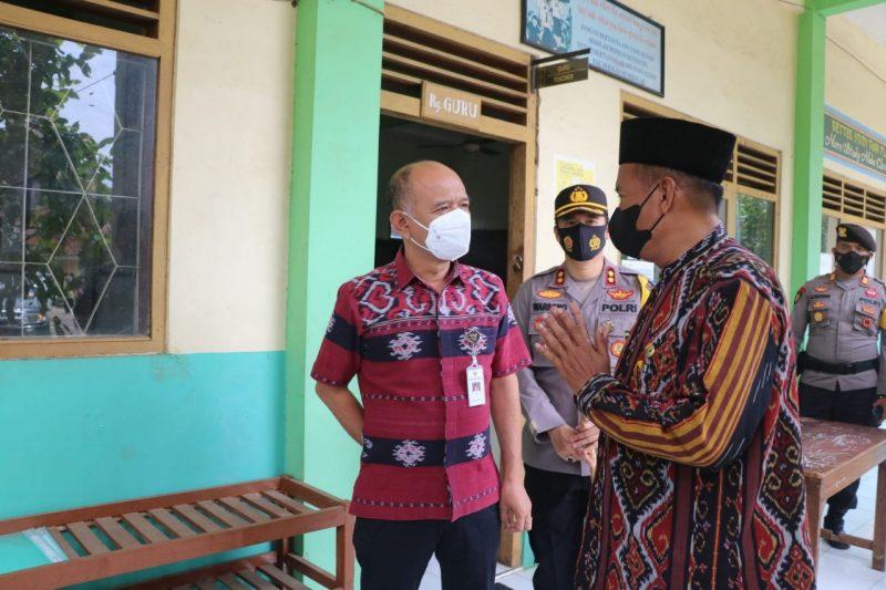 Bupati Jepara Dian Kristiandi menghentikan sementara pembelajaran tatap muka (PTM) di seluruh Kabupaten Jepara. (Foto: Diskominfo Jepara)
