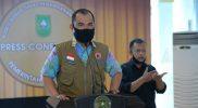 Kabid Kedaruratan Badan Penanggulangan Bencana Daerah (BPBD) Riau, Jim Ghofur. (Foto:MC Riau)