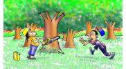 Penjarahan Hutan Ilegal (Hoooooi Jangaaaaan), Danny Yustiniadi (2021).